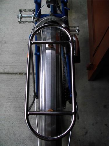 Velo Orange Constructeur rear rack to fender