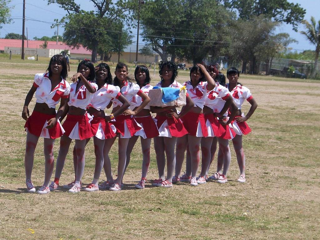 Jamaican cheerleading cheers, body builders ladies pussy