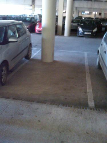 Plaza de aparcamiento de la UAB