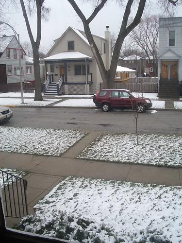 Darn snow