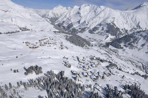 Vista desde Oberlech