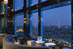 Bar Panoramique with mesmerizing Eiffel Tower and Arc de Triomphe  blue View-Hotel Concorde La Fayette-Paris (Concorde Hotels Resorts) Tags: blue paris france hotel europe lafayette tour view champagne lifestyle cocktail toureiffel concorde stunning arcdetriomphe htel hotelparis concordelafayette hotelconcordelafayette trendybar stunningview romanticview hotelinparis dwwg panoramicbar concordehotels concordehotellafayette highfloorbar bigglasswindow barpanoramic barlafayette concordelafayetteparis panoramiquebar