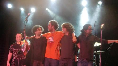 Rafa Pons y la banda