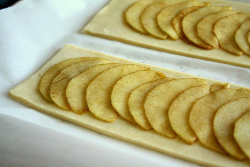 Homemade Puff Pastry Apple Tart