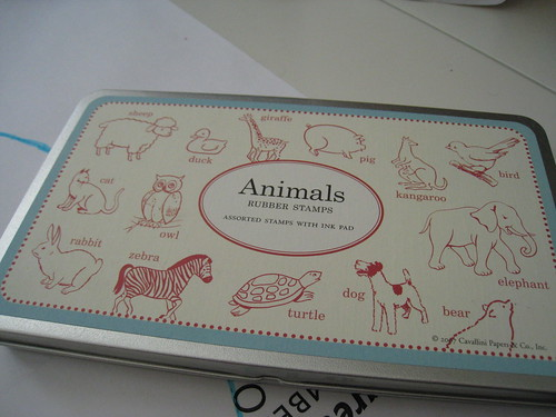 Animal Stamps by Cavallini