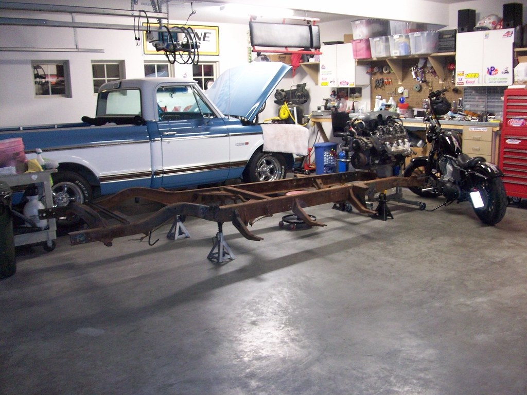 48 57 Chevy Trucks With Ls Engines Ls1tech Camaro And 1957 Truck Clip Crap I Put The Engine In Backwards