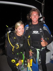 Ready for Our NIGHT Dive!