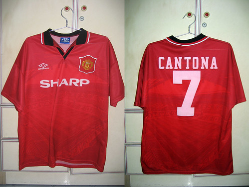 Manchester United 1994-1996 Home S/S (CANTONA)