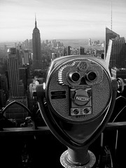 top of the rock (PaulRichardCox) Tags: city nyc newyork rock skyscraper top manhattan telescope timessquare empirestatebuilding rockefeller topoftherock