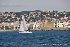 Ophiousa - Sitges. Punto de partida de la regata