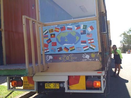 Truck & mural