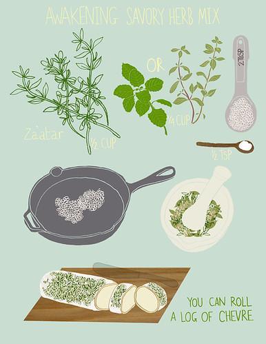 awakening savory herb mix