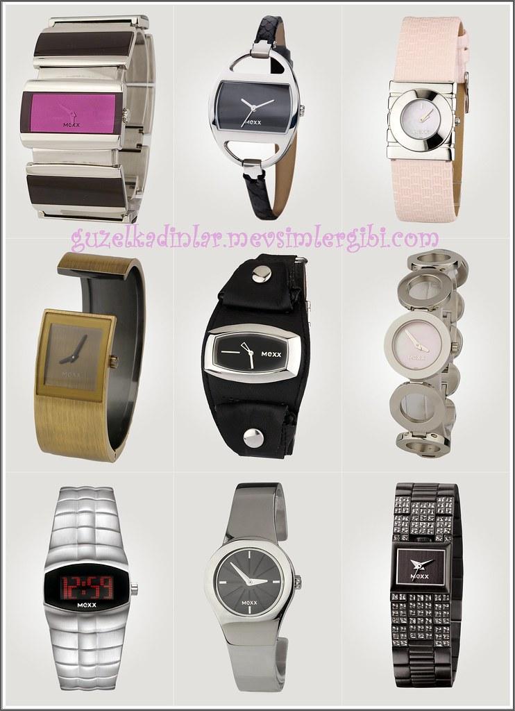 Mexx Markalı Bayan Kadın Kız Kol Saatleri Kol Saati Modelleri - 2010 Trendy Kol Saatleri Son Moda Bayan Kol Saati Modelleri