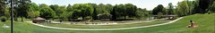 Freedom Park Panorama (zzazazz) Tags: park autostitch freedom nc charlotte north carolina