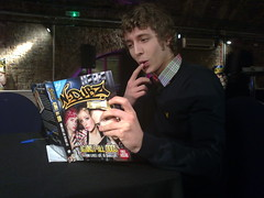Matt Edmondson learns a thing or two about N-Dubz on Sony Ericsson's Pocket TV (Pocket TV) Tags: sonyericsson pockettv ndubz mattedmondson