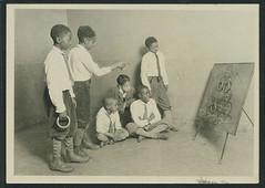 nyhs_cas_b-975_f-09_001s_w (New-York Historical Society Library) Tags: newyorkcity newyork children blog harlem games lewishine boysclub childrenscenter socialreform childrensaidsociety africanamericanchildren harlemboyshouse