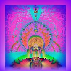 Divine Eye (Chipmunk Hill Arts) Tags: art fractal sterling visualart picnik katiewolfe