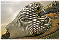 Selfridges  Building in Birmingham Kaplick's Masterpiece (david gutierrez [ www.davidgutierrez.co.uk ]) Tags: city urban building architecture buildings spectacular geotagged photography photo arquitectura birmingham cityscape image sony