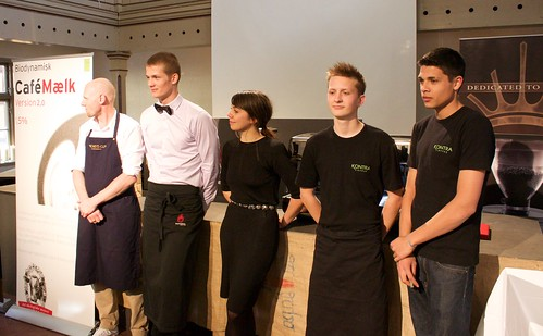 The barista competitors