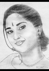sketched beauty | shalini (RC Sreejith | ) Tags: bw art illustration paperart sketch blackwhite drawing illustrated models kerala pencilsketch keralamodel sreejithrc rcsreejith