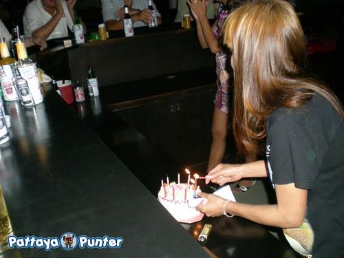 Birthday Cake at Cherry Bar 2