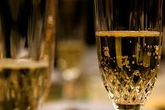 Happy Birthday :) (occhiobliquo) Tags: party white colour macro glass gold golden italian italia wine drink bokeh drinking asti moscato