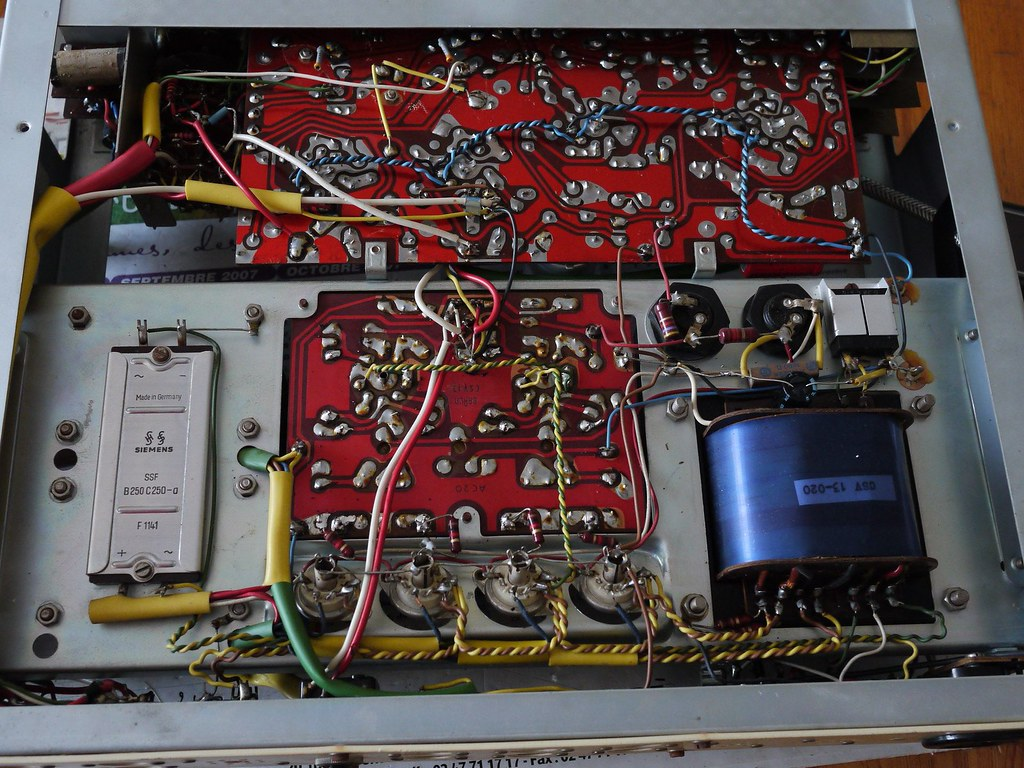 The Worlds Best Photos Of French And Tubeamplifier Flickr Hive Mind Electrical Wiring Braun Csv13c Nikleitz2009 Tags Vintage Tube Amp Valves 6l6 Bouyer Paulbouyer