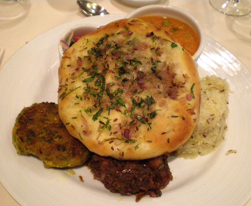 Carnival Spirit - Best Indian Vegetarian Dinner Yet (Except Chickpeas)