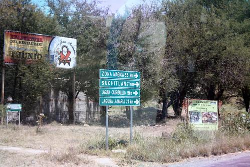 Comala - Zona Magica Sign
