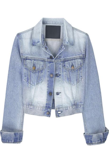 bassike organic denim jacket net a porter