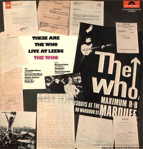 1 - Who, The - Live At Leeds - Club Issue - D - 1970-