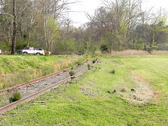 Crossing (CamperMike) Tags: railroad bridge abandoned train virginia crossing tracks petersburg trains va rails disused signal seaboard seaboardairline seaboardairlinerailroad