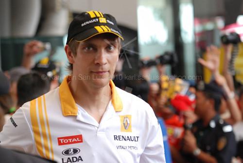 Vitaly Petrov - Renault F1
