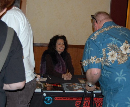 Sean Young at the Hollywood Show
