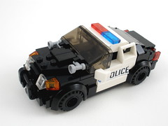 Crown Victoria Police Cruiser