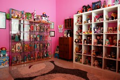 ikea haven (girl enchanted) Tags: ikea toy toys junk doll dolls shelf insanity kenner shelves takara clutter treasures toyroom expedit dollroom kenners dollyroom
