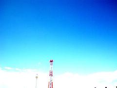 blue_sky02 (youfuji) Tags: street blue sky urban japan photoshop town pentax saitama retouch  abigfave