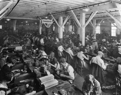 1927 factory workers