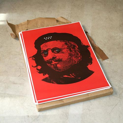 Toni Sanchez Tena, Cartel para distribución gratuita, Offlimits, Lavapiés, Madrid, 2008