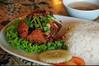 Warung Frangipani - Mango Grilled Fish Set