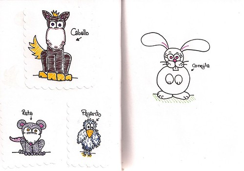 My daughter's Moleskine