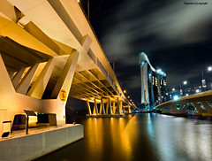 All Roads Lead to Marina Bay Sands , Singapore (Ragstatic) Tags: night marina nikon exposure rags casino sands dri ecp mbs benjaminshearesbridge marinabaysands d700