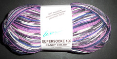 Online - Supersocke 100 - Candy Color 1180