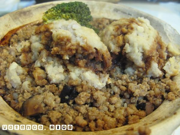 新翠華茶餐廳08 荔蓉肉碎煲仔飯