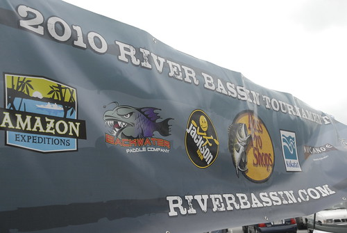 River Bassin Tournament Trail Banner