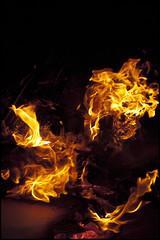 Flames! 01 (MitchRJ81) Tags: motion fire energy flame bonfire