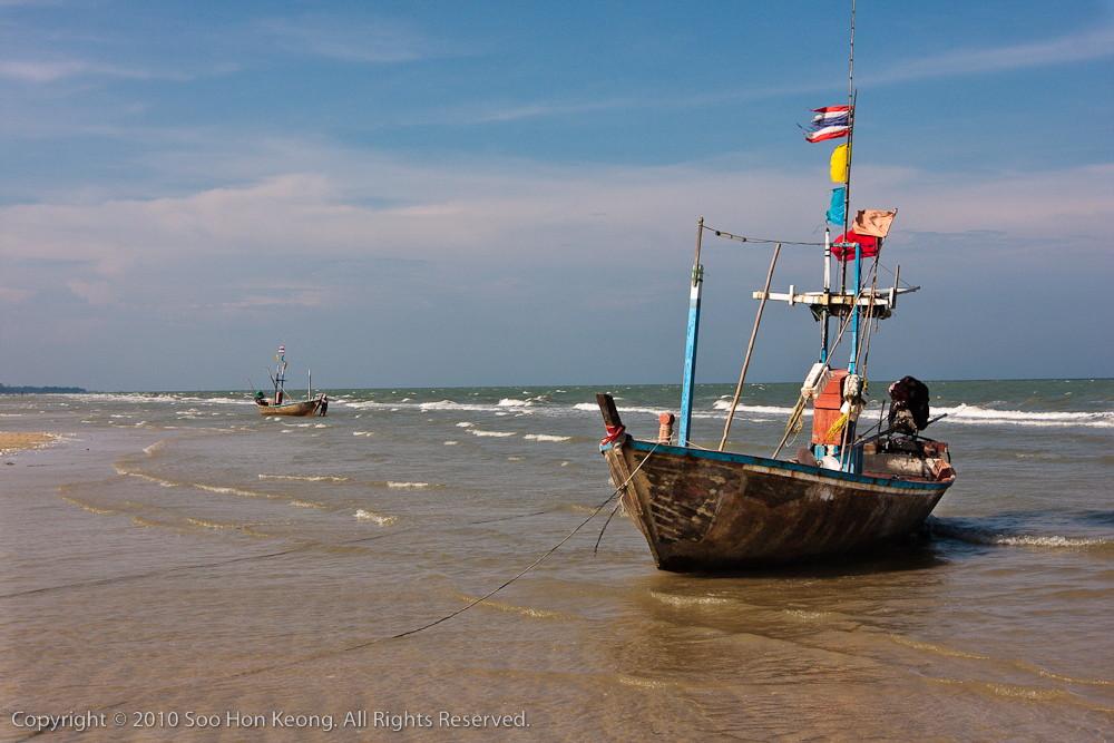Boats @ Hua Hin, Thailand