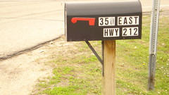 Chaska Building Center - Mailbox still up
