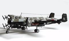 Heinkel He-219 Uhu (1) (Mad physicist) Tags: germany lego aircraft wwii heinkel ww2 nightfighter