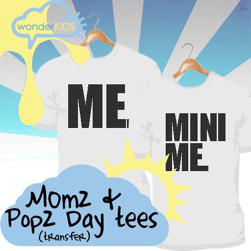 <(wonderkids)! Momz & Popz Day tees